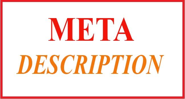 Meta description là gì