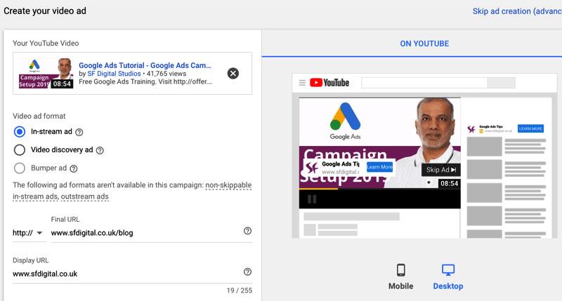 in stream ads youtube - Ảnh minh họa Internet