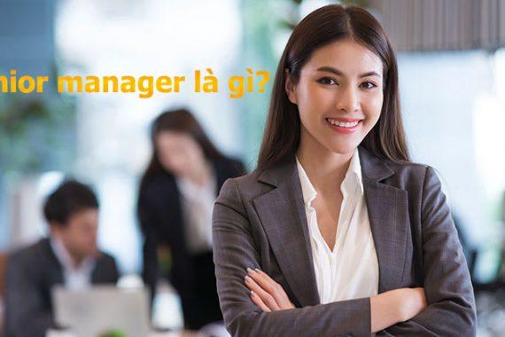 Senior manager là gì - Ảnh minh họa Internet